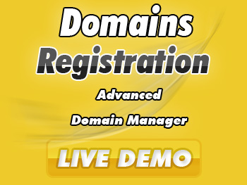 Modestly priced domain name registration services